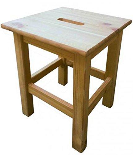 Blinky OEM. 9679005big-quadro Hocker aus Holz