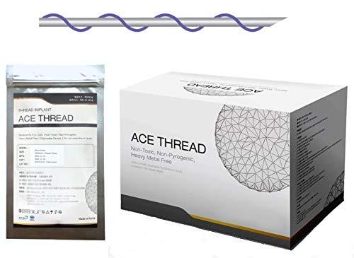 ACE PDO thread lift KOREA face/whole body - Mono Screw Type (400pcs) - 12 sizes (27G60)