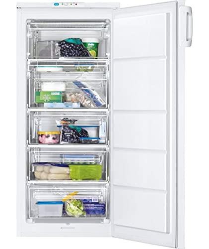 Zanussi ZUAN19FW congelador Independiente Vertical 168 L A+ Blanco
