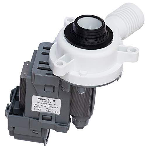 W10276397 Washer Drain Pump Premium Replacement Part by Canamax - Compatible with Whirlpool Washers - Replaces LP397 AP6018417 WPW10276397VP