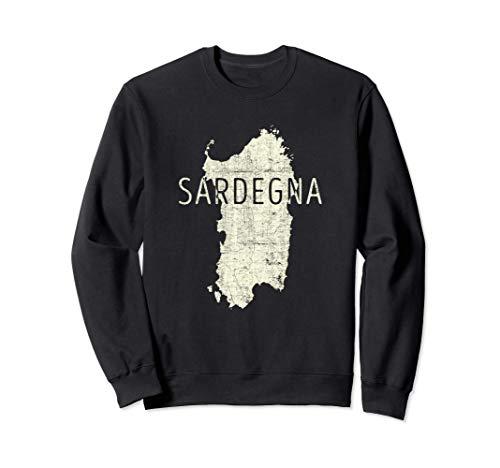 Sardische Kartenwortkunst - Sardinien Italien Souvenir Sweatshirt