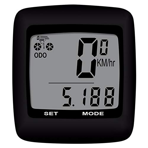 HSTD Ciclocomputadores, Cuentakilómetros para Bicicleta, Cableado/Temperatura/Calorías/Grasa/Equipo De Ciclismo/Accesorios para Bicicletas Al Aire...