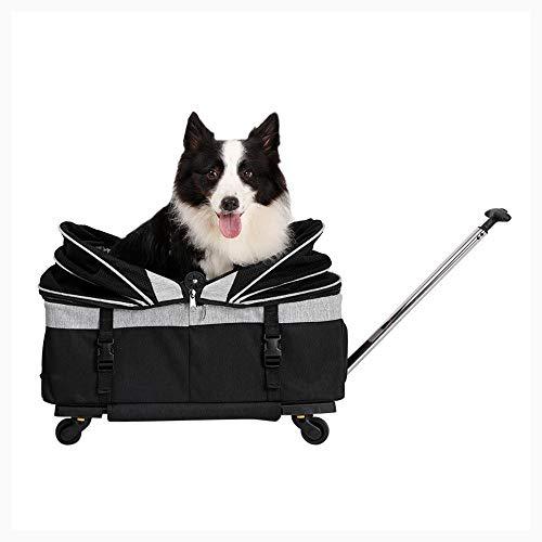 Hlyp Maleta For Mascotas For Los Animales Domésticos, Plegable Caja De La Carretilla For Perros Y Gatos, Al Aire Libre Bolsa De Viaje, La Caja Extraíble For Mascotas, Caja De La Carretilla For Los