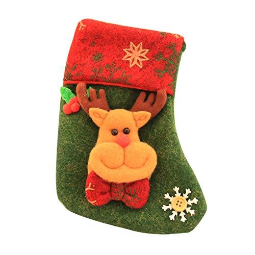 Preisvergleich Produktbild Vi.yo Süßigkeiten Tasche,  Weihnachtsstrumpf Trompete Geeignet für Weihnachtsfeier Geschenk Dekoration,  Lagerung Süßigkeiten,  Spielzeug,  und Snacks