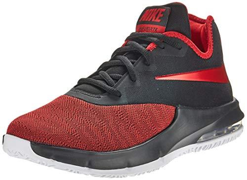 Nike Air MAX Infuriate III Low, Zapatillas de Baloncesto para Hombre, Negro (Black/University Red/White 000), 40.5 EU