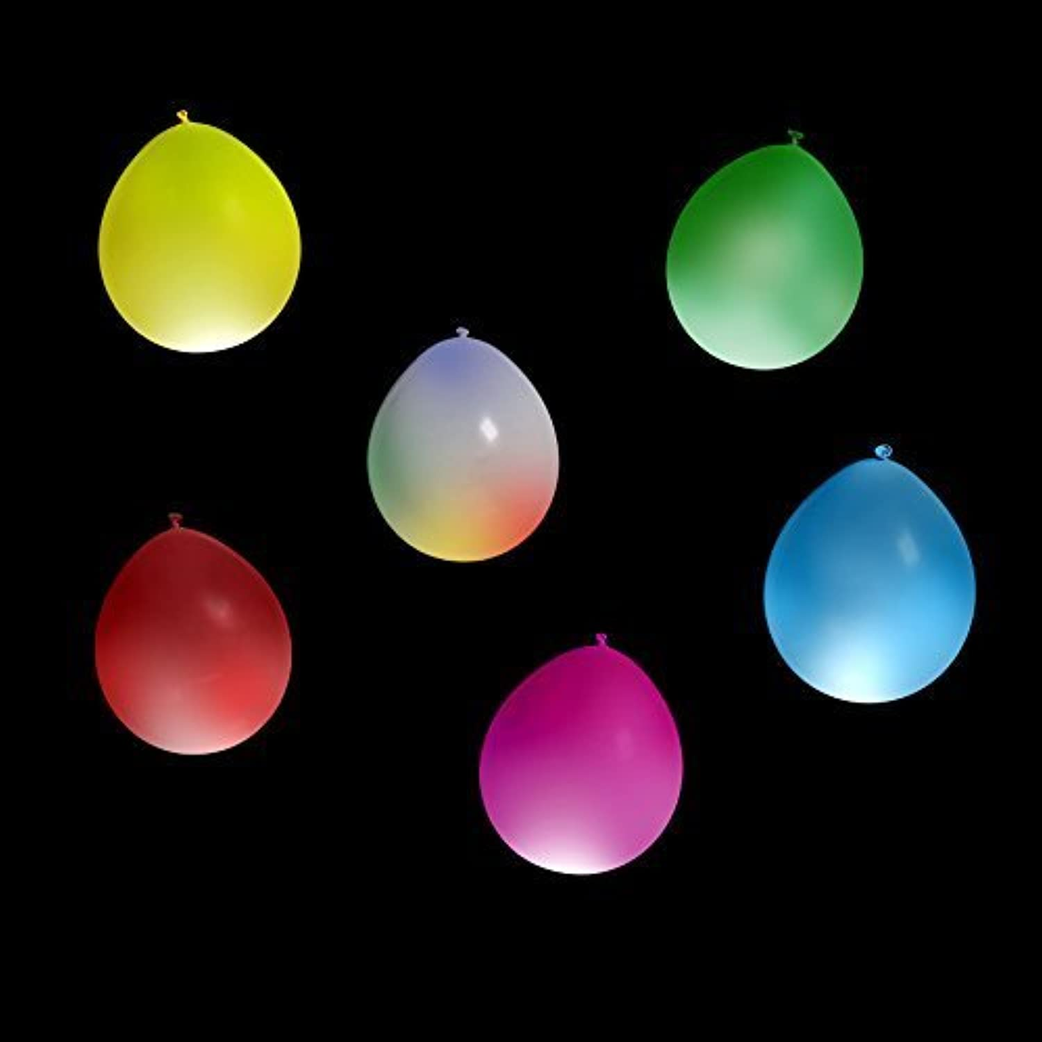 Centro comercial profesional integrado en línea. Festive Blow N' Glow LED Balloons - Light Light Light Up LED Balloons For Your Party - A Vibrant Colorojo Party Pack Of 15 Balloons - A Range Of Colors - Perfect For Kid's Parties, Celebrations And To Have FUN  by Zirrly  Precio por piso