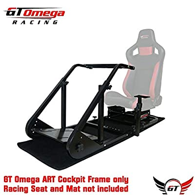 Gt Omega Art Racing Simulator Cockpit Frame (no Seat)