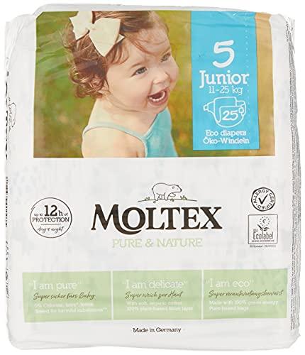 Moltex - Moltex - sachet de 25 couches taille 5 junior 11 à 25 kgs