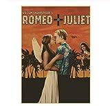 NVRENHUA Romeo und Julia Tragödie TV Film Leinwanddruck