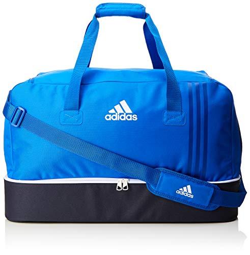 adidas Erwachsene Tiro BS4 Team-Tasche Mit Bodenfach, Blue/Collegiate Navy/White, 27 x 61 x 28