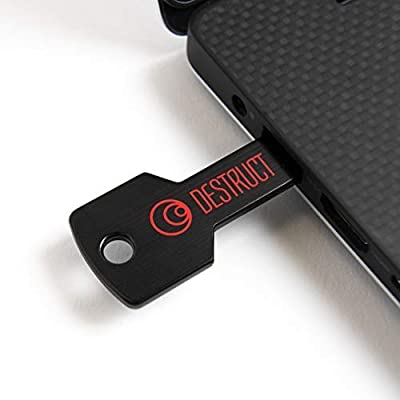 Destruct Hard Drive Data Eraser by Lovell | Permanently Erase Computer Data | Military -Grade HDD Erase Tool | Non-Recoverable Data Once Erased | All PC and Laptop Compatible | Easy-to-Use USB