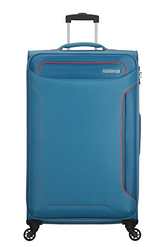 American Tourister Holiday Heat - Spinner Maleta, 79.5 cm, 108 l, Azul...