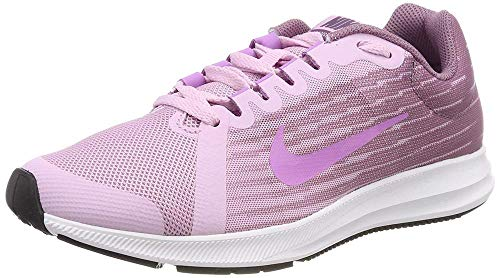 Nike Downshifter 8 (GS), Scarpe da Trail Running Donna, Multicolore (Lt Arctic Pink/Fuchsia Glow/Violet Dust 000), 35.5 EU