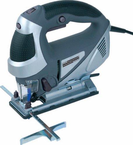 Mannesmann Elektronik-Pendelhub-Stichsäge 800 W, mit Laser, 12783
