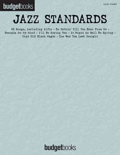 Jazz Standards: Easy Piano (BudgetBooks)