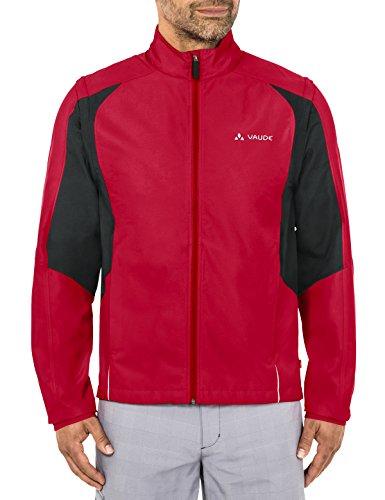 VAUDE Herren Jacke Dundee Classic ZO Jacket, indian red, L, 068116140400