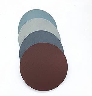 20pcs 6 pulgadas de espuma de disco de lija de disco de lija de 150 mm de espesor de arenas de arena Grits 80 para elegir Hook /& Loop disco de lijado para Sander