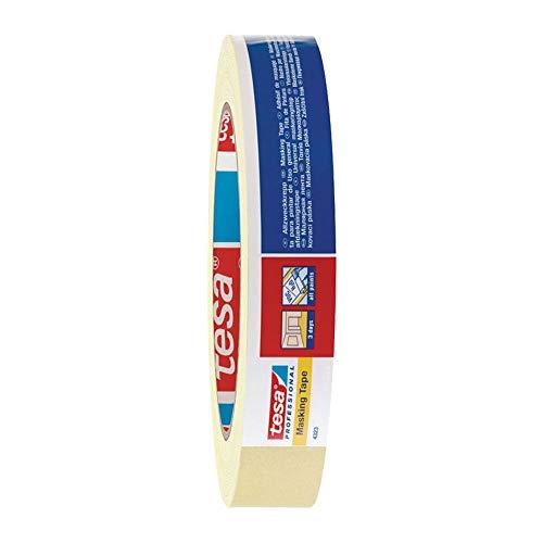 TESA Kreppband Abdeckband tesakrepp 4323 BASIC, 19 mm x 50 m, 12 Stück
