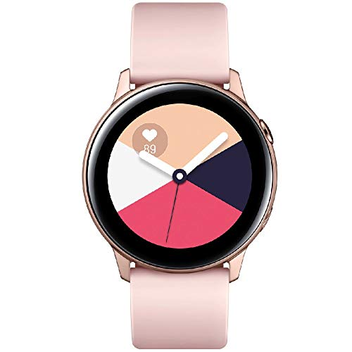 Samsung Galaxy Watch Active - 40mm, IP68 Water Resistant, Wireless Charging, SM-R500N International Version (Rose Gold)