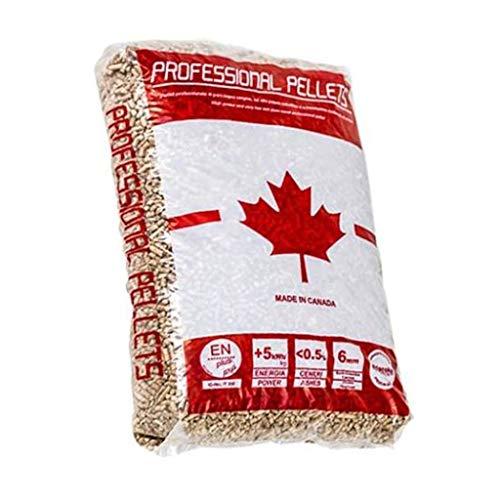 Pellet canadese professionale 15kg x 10 Pezzi