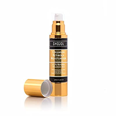 Retinol Face & Eye Cream | Hyaluronic Acid|100% Pure Natural & Organic |Vitamins A,C & E| High Strength Anti Ageing Formula with Green Tea|Day/Night|Acne|Wrinkles|Fine Lines Vegan Friendly