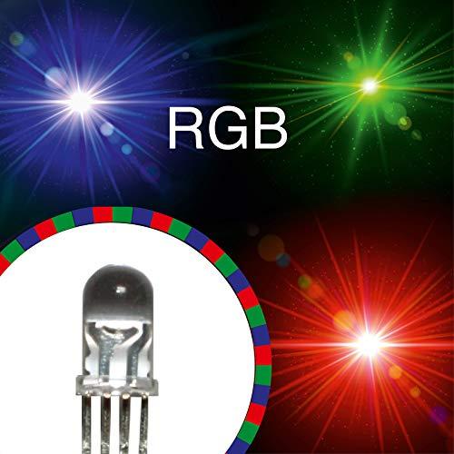 12V extrem hell 20 x LED 5mm weiß 26000 mcd leds weiße Leuchtdioden 5 mm