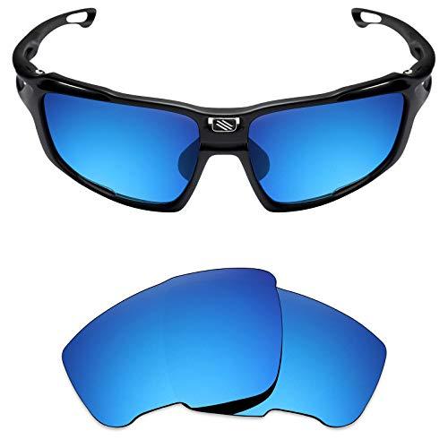 Mryok Ersatzgläser für Rudy Project Sintryx, Blau (Polarisiert – Eisblau), Einheitsgröße