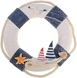 Garlic. HOT - Wind Chimes & Hanging Decorations - KiWarm 1pc Nautical Mediterranean Family Adorment Life Buoy Crafts Room Decor Life Ring Nautical Home Wall Hanging Decoration 1 PCs