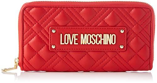 Love Moschino Precollezione SS21   Portafoglio da Donna, Rosso, Normal