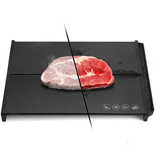 Professional Quick Food Defrosting Tray Meat Defrosting Tray, Frozen Food Thawing Plate Defrost Meat/Frozen Food Quickly