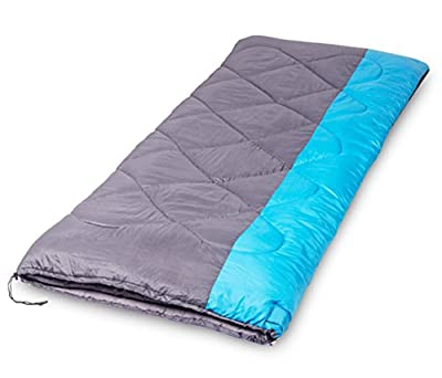 X-CHENG Sleeping Bag - ECO Friendly Materials - Water Resistant & Machine Washable - Two Bags can be Zipped Together - 40? Available - Perfect for Camping, Hiking - Comes with Complimentary Gift