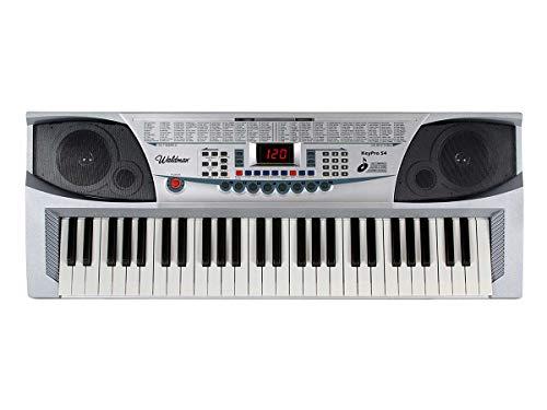 Teclado Waldman KeyPro 54 - Display em LED, 54 Teclas, com Microfone e Estante para Partitura