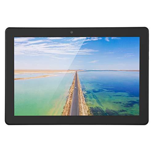 Asixxsix Tableta, cámara de 5 MP Tableta ultradelgada, visualización de 178 Grados Admite 2 Tarjetas(European Plug (100-240v))