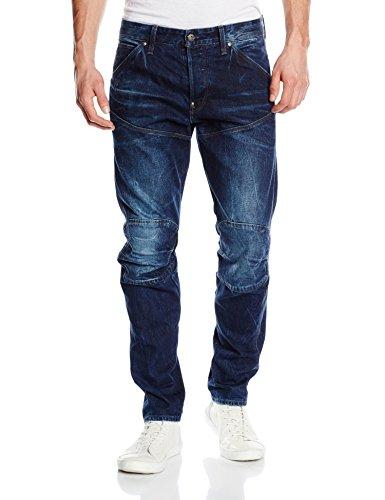 G-STAR RAW Herren 5620 Elwood 3D Tapered Jeans, Blau (dk Aged 5689-89), 30W / 32L