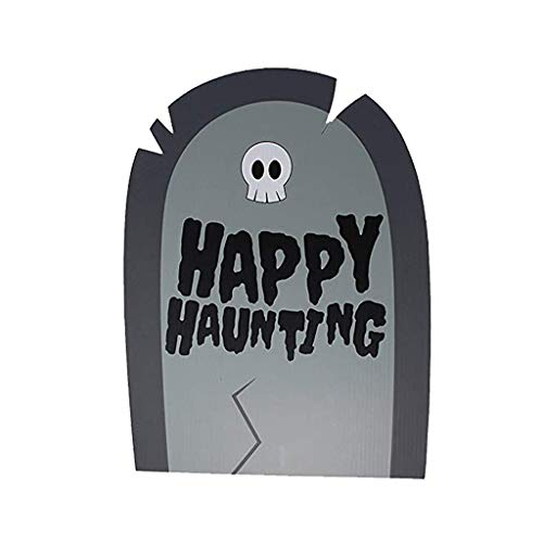 Fasclot Halloween Yard Sign is Suitable for Outdoor/Indoor Decoration, Lawn Decoration Home & Garden Home Decor