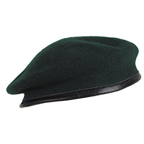 Militär a Commando Barett Ceinture Vert Taille 58