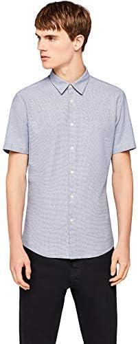 find Marke Herren Kurz/ärmeliges Oxford-Hemd