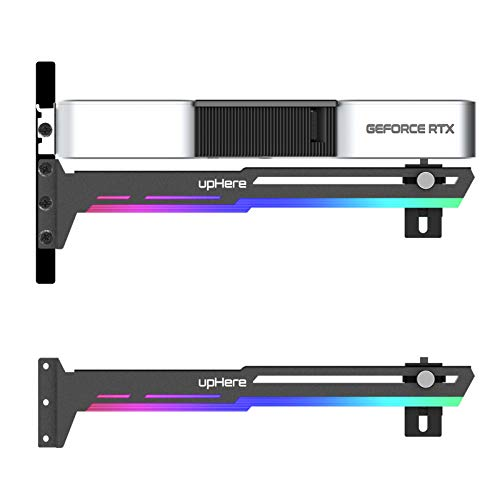 upHere GPU Unterstützung LED ARGB Grafikkarte Grafikkarte für Kugelhalterung/Hülle für Frame, Einzel- oder Doppelkarten, G276ARGB