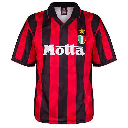 Score Draw AC Milan 1994 Retro Football Soccer T-Shirt Trikot