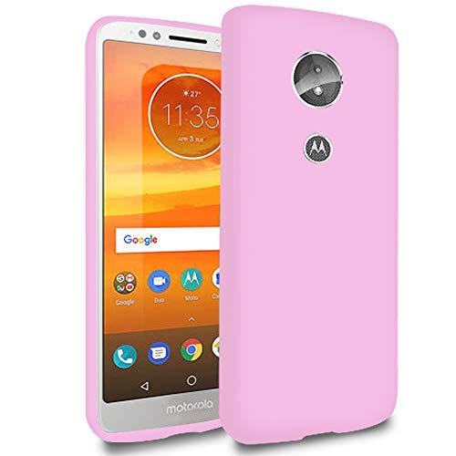 5.99 Funda Blanda para Motorola Moto E5   TPU   en Rosado   Resistente a Golpes