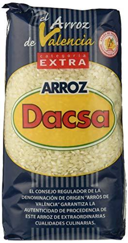 Dacsa Arroz Blanco Redondo - Paquete de 6 x 1000 gr - Total: 6000 gr