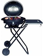 SUNTEC elektrische barbecue BBQ-9493, ook geschikt als tafelbarbecue | barbecue met afneembaar deksel en instelbare thermometer | ideaal voor balkon, tuin, outdoor en camping | barbecue voor meerdere personen en elke locatie