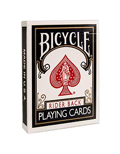 Baraja BICYCLE dorso Negro (US Playing Card Company)