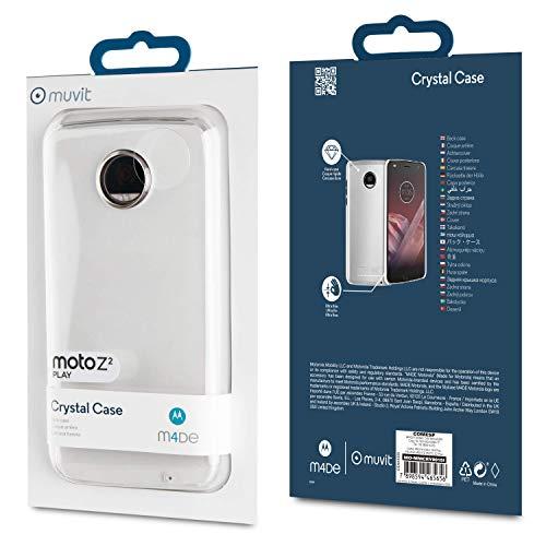 Integral Office Comunicaciones Cristal - Custodia per Motorola Moto Z2 Play, trasparente