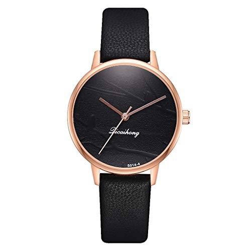 TWISFER Damenuhren Analog Quartz Vogel auf dem AST Zifferblatt mit Leder Armband Einfache Mode Kreative Uhren Lederarmband Damenarmbanduhr