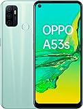 OPPO A53S - Smartphone 128GB, 4GB RAM, Dual SIM, Carga rápida 18W - Verde claro