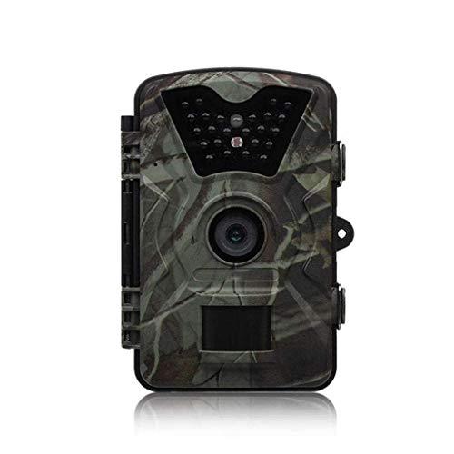 GJNVBDZSF Tracking-Kamera Jagdkamera Wildlife 12MP Ultra HD wasserdichte 1080P Infrarot-Nachtsicht-Überwachungskamera 2,4-Zoll-Bildschirm