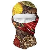 NA Seasoning Red Pepe Spezie Moto Maschere Sci Cappuccio Cappello Velo Passamontagna UV Protect Maschera integrale
