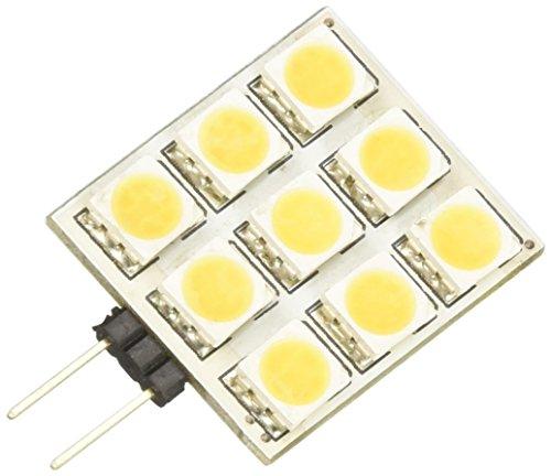MKC Ampoule G4 à 9 lED carré, 2 W, clair, 3.3 x 4.2 cm