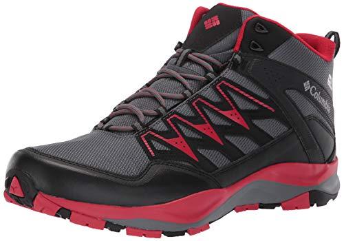 Columbia Homme Chaussures de Randonnée, Imperméable, WAYFINDER MID OUTDRY, Taille 40.5, Gris (Graphite, Steam)